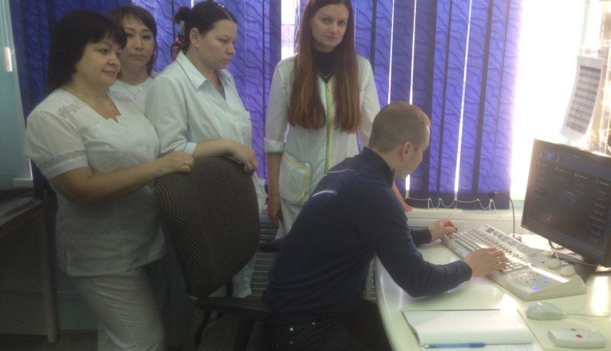 Мастер-класс по выполнению исследований на компьютерном томографе
